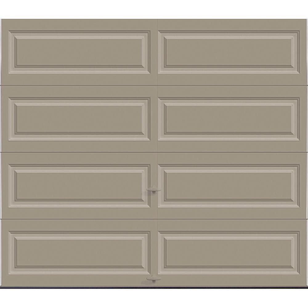 Premium Series Insulated Long Panel Garage Door