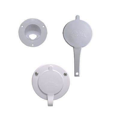 Replacement Cap for Vertical Mount Showers, White