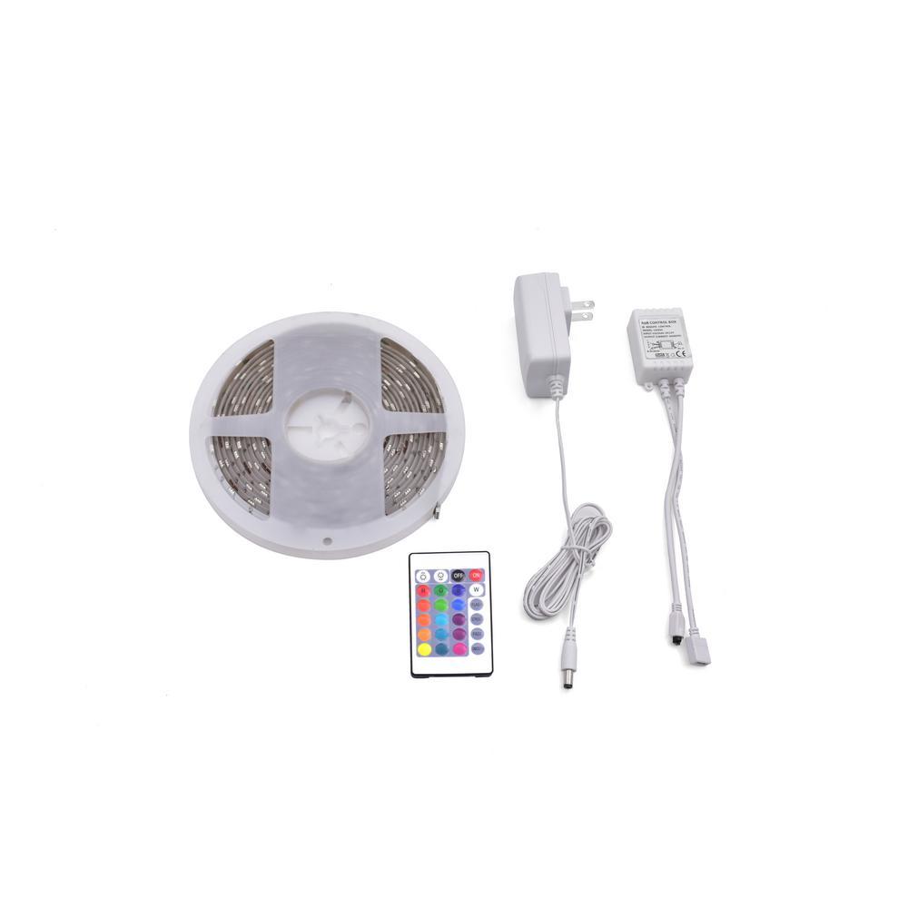 16 ft. Indoor RGB LED Strip Light Kit