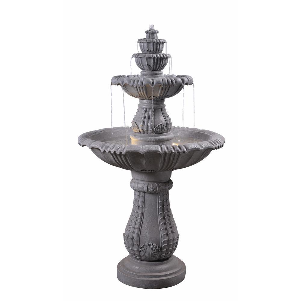 Florentine Resin Floor Fountain
