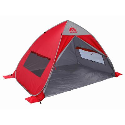 GigaTent Sun Shade Tent with UV Protection for Outdoor Camping, Hiking and Fishing (Red)