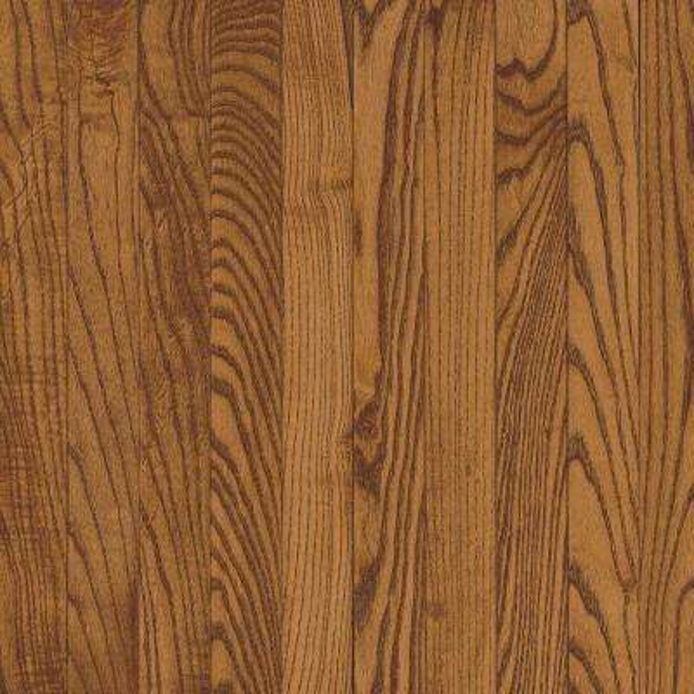 Solid Oak Gunstock Hardwood Flooring - 5 in. x 7 in. Take Home Sample