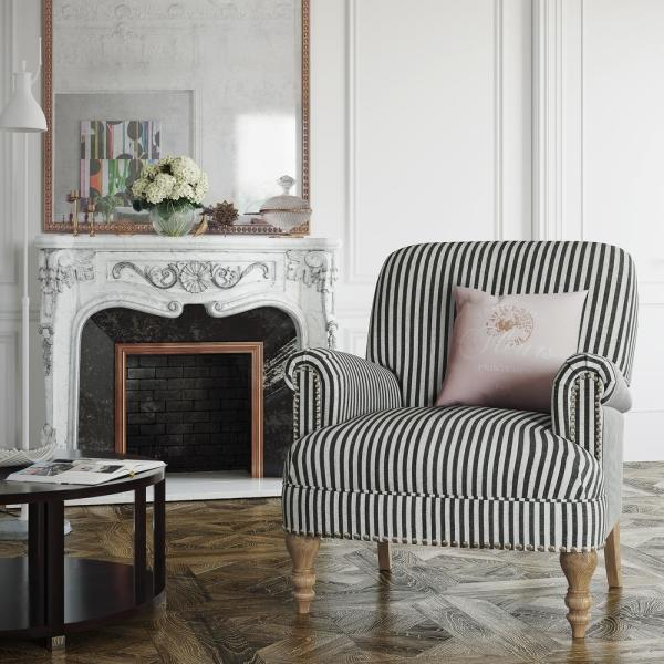Upholstered Accent Chairs Living Room, Living Room Accent Chairs