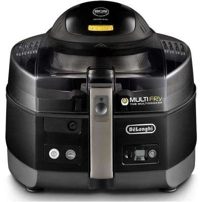 MultiFry Ultra Low-Oil Fryer and Multicooker in Black