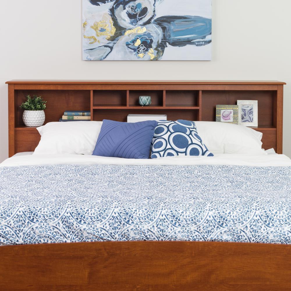 Prepac Monterey Cherry King Headboard-CSH-8445 - The Home ...