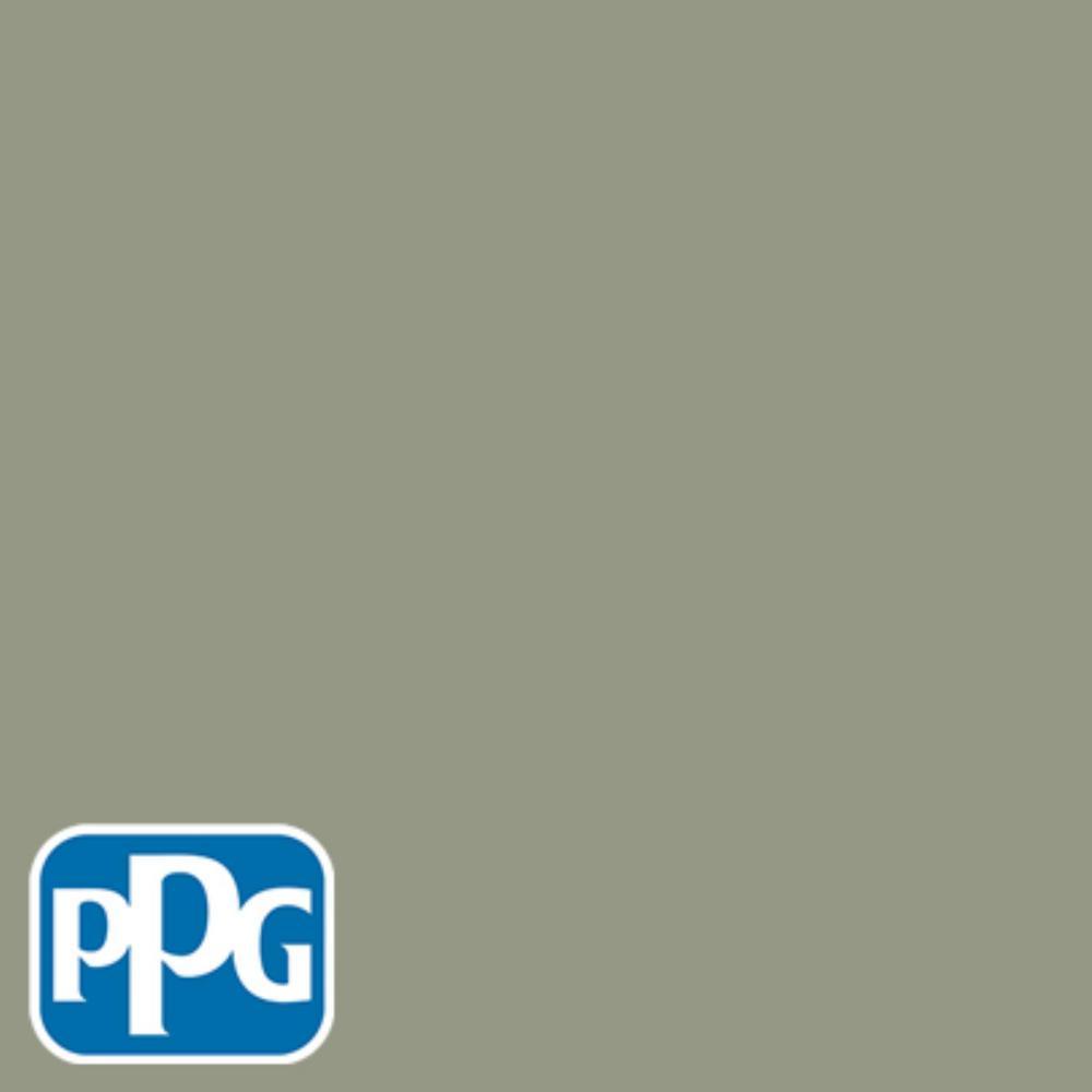 8 oz. #HDPPGCN08U Monsoon Green Satin Interior/Exterior Paint Sample