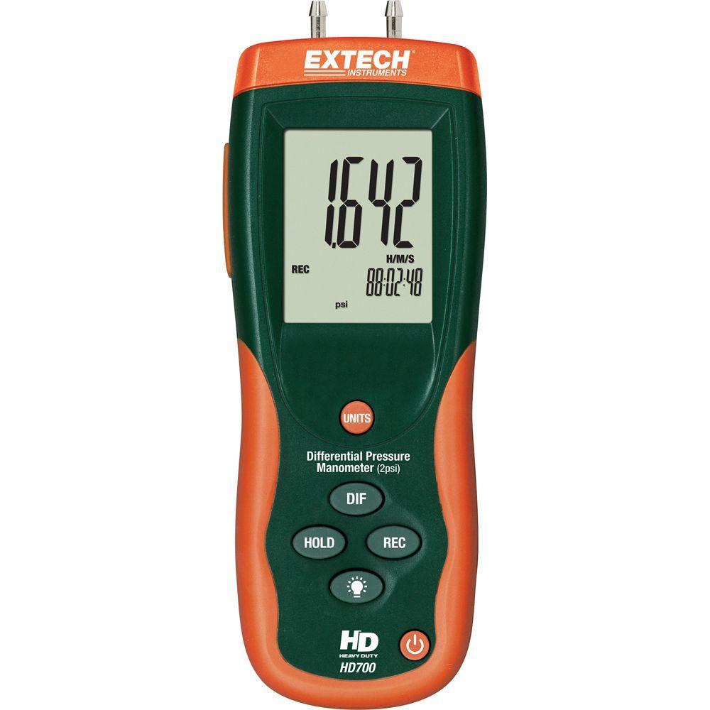 2 Psi Differential Pressure Manometer
