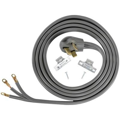Southwire 64823001 3 Pack of 50-AMP dryer appliance cord Black