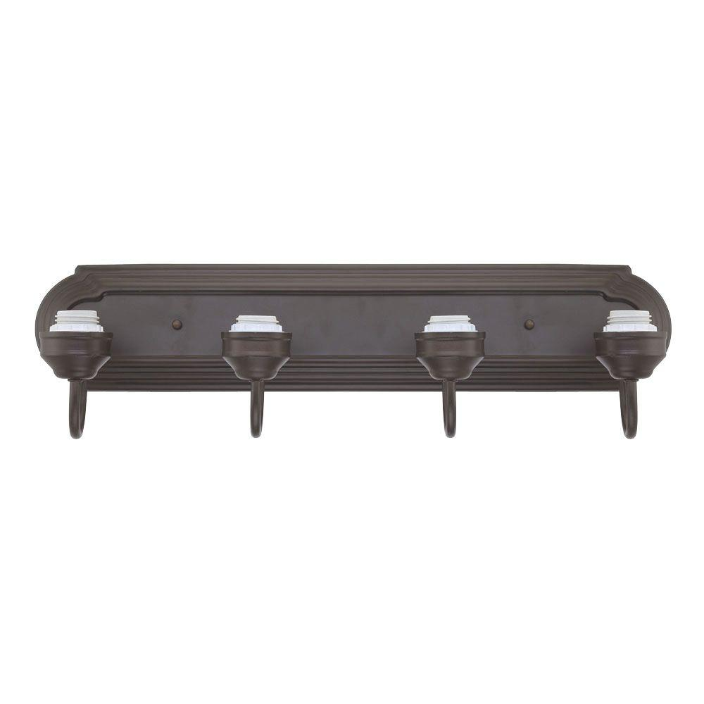 Westinghouse 4-Light Oil Rubbed Bronze Wall Fixture