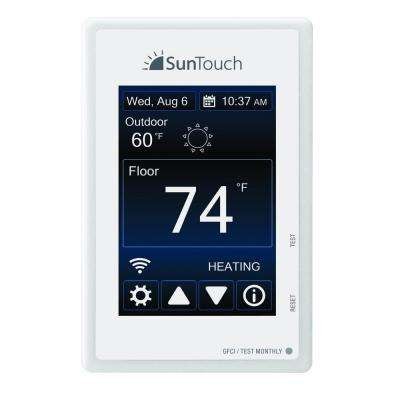 SunStat Connect Wi-Fi Programmable Floor Heating Thermostat