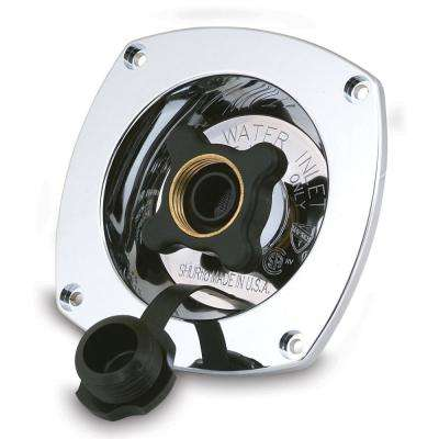 Pressure Reducing City Water Entry (Wall Mount) Chrome