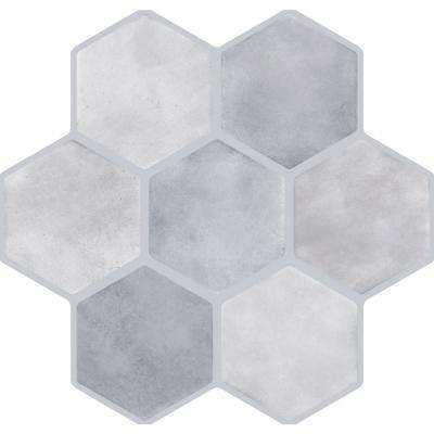 Vice Gray Matte 17.72 in. x 17.72 in. Porcelain Floor and Wall Tile (13.455 sq. ft. / case)