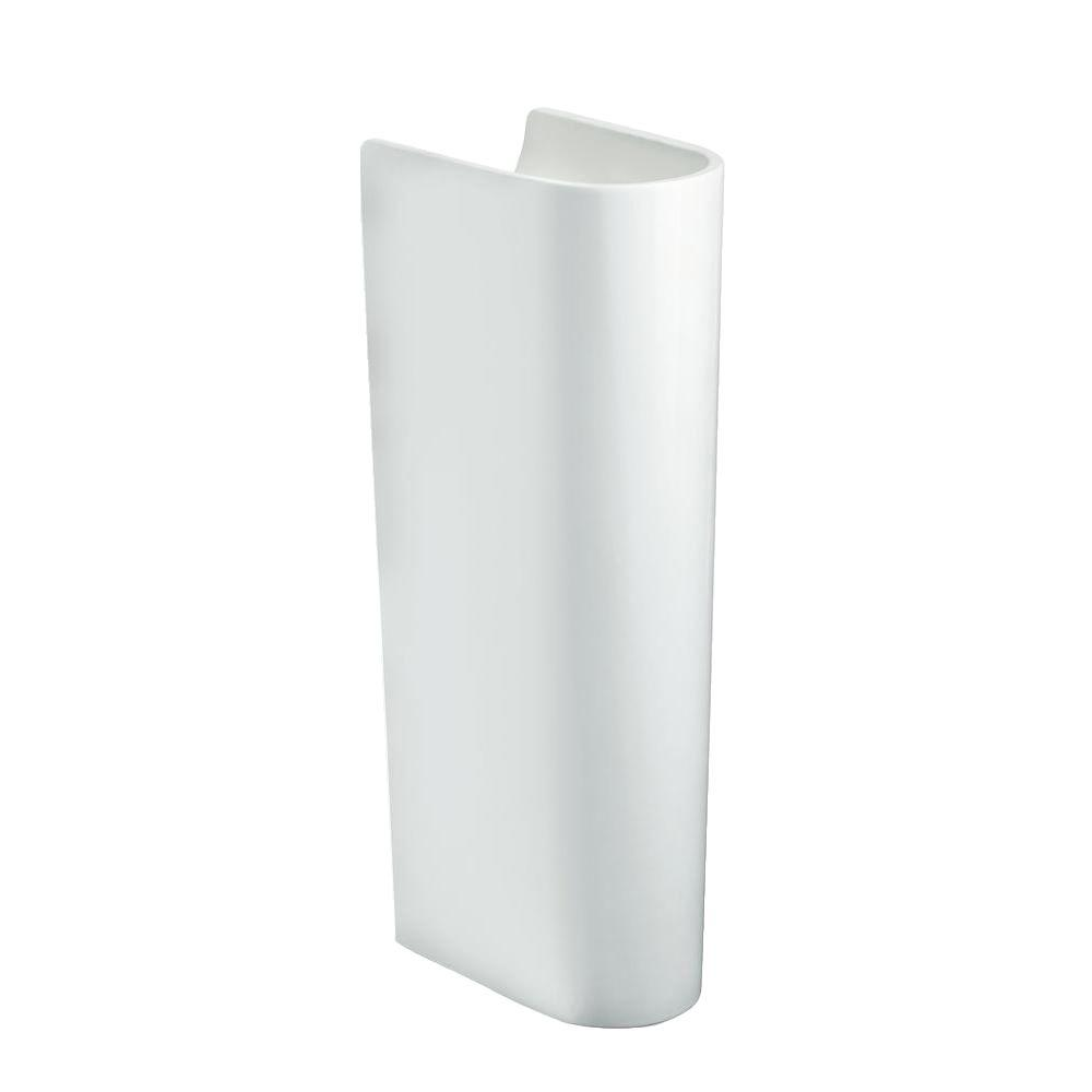 Escale Vitreous China Pedestal in White