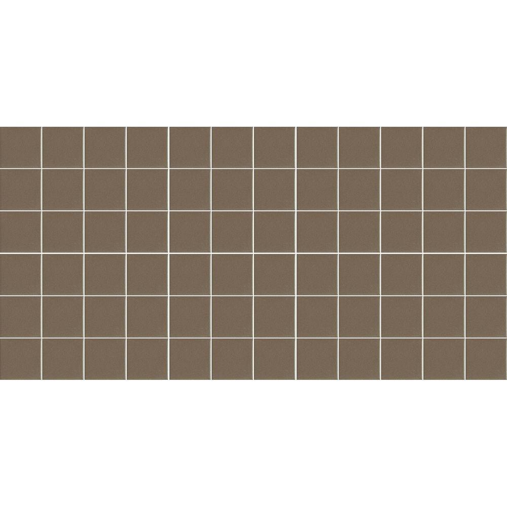 Keystones Unglazed Artisan Brown 12 in. x 24 in. x 6