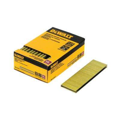 1/4 in. x 1-1/2 in. 18-Gauge Glue Collated Crown Staple (2500-Pieces)
