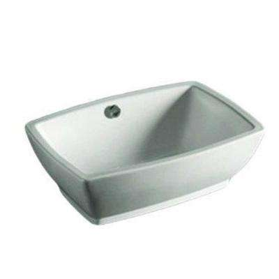 Isabella Vessel Sink in White