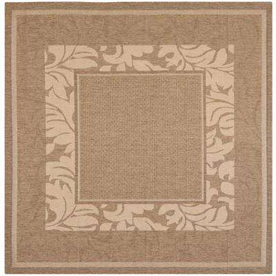 Square 7\' and Larger - Brown - Outdoor Rugs - Rugs - The Home Depot