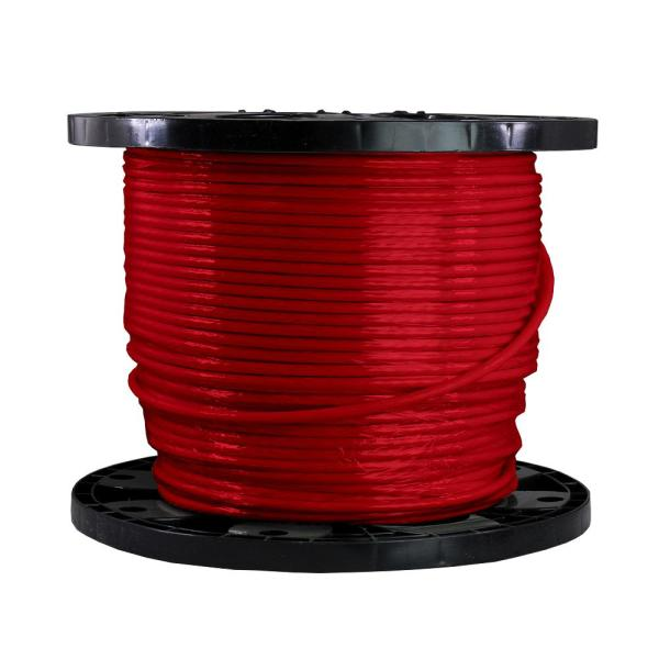 500 ft. 6/1 Red Stranded THHN Wire