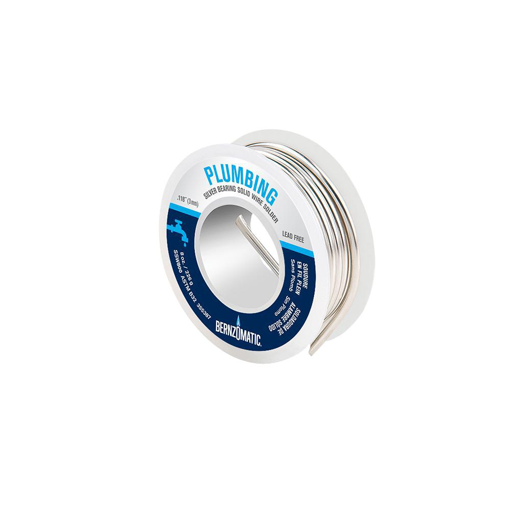 Solid Wire   Bernzomatic 8 Oz Solid Wire Solder 333540 The Home Depot