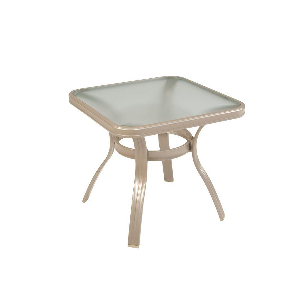 Martha Stewart Living Cascade Valley 20 in. Accent Patio Table-DISCONTINUED