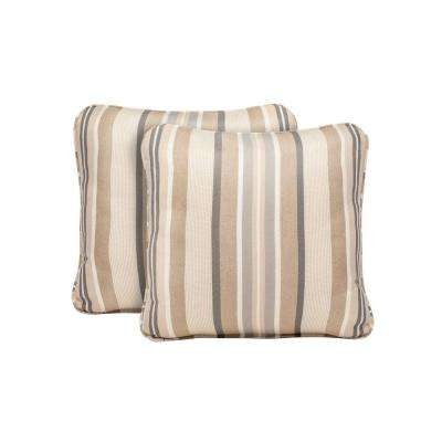 Highland Terrace Lane Outdoor Throw Pillow (2-Pack)