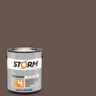 Category 4 1 gal. Chocolate Lab Matte Exterior Wood Siding 100% Acrylic Latex Stain