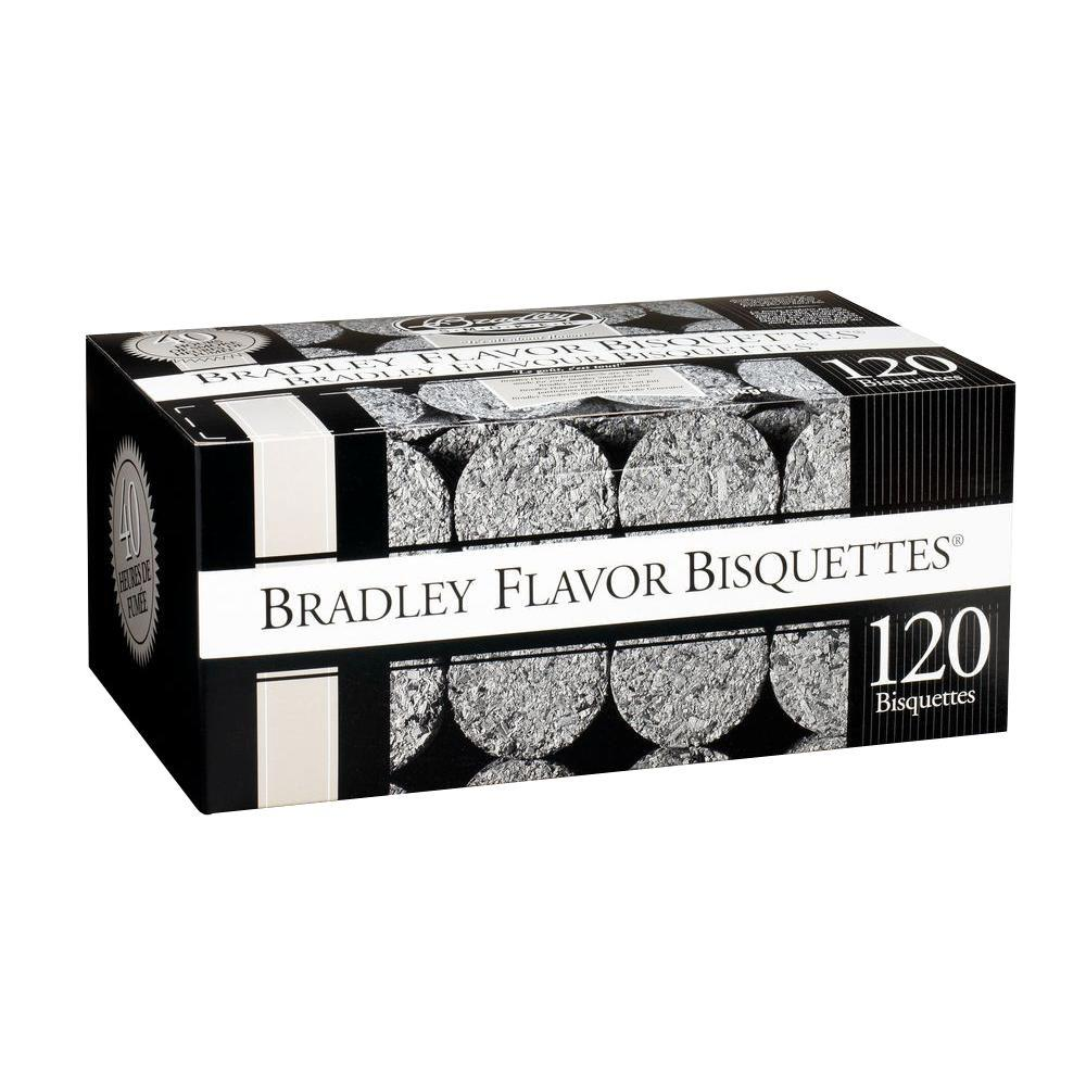 Bradley Smoker Hickory Flavor Bisquettes (120-Pack)-BTHC120 - The ...