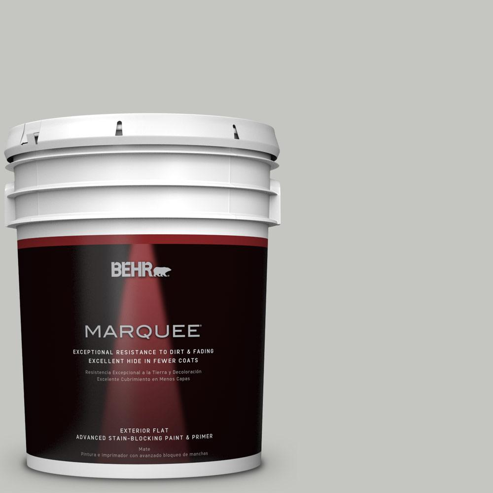 5-gal. #PPF-29 Traditional Gray Flat Exterior Paint