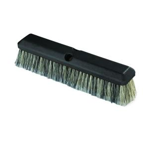 Carlisle 14 inch Vehicle Wash Scrub Brush with Flagged Grey Polystyrene Bristles... by Carlisle