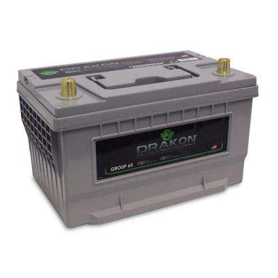 12-Volt High Performance Group 65 Pure Lead AGM Engine Start Battery