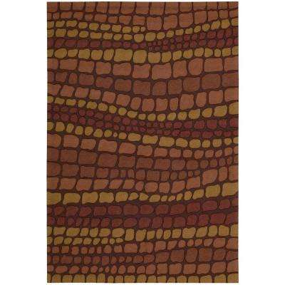 Fantasy Brick 4 ft. x 6 ft. Area Rug