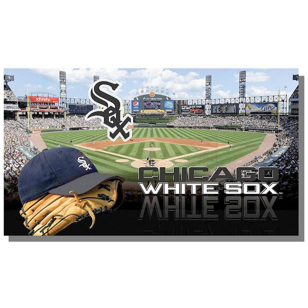 Evergreen Enterprises Sublimated 18 in. x 30 in. Chicago White Sox Door Mat