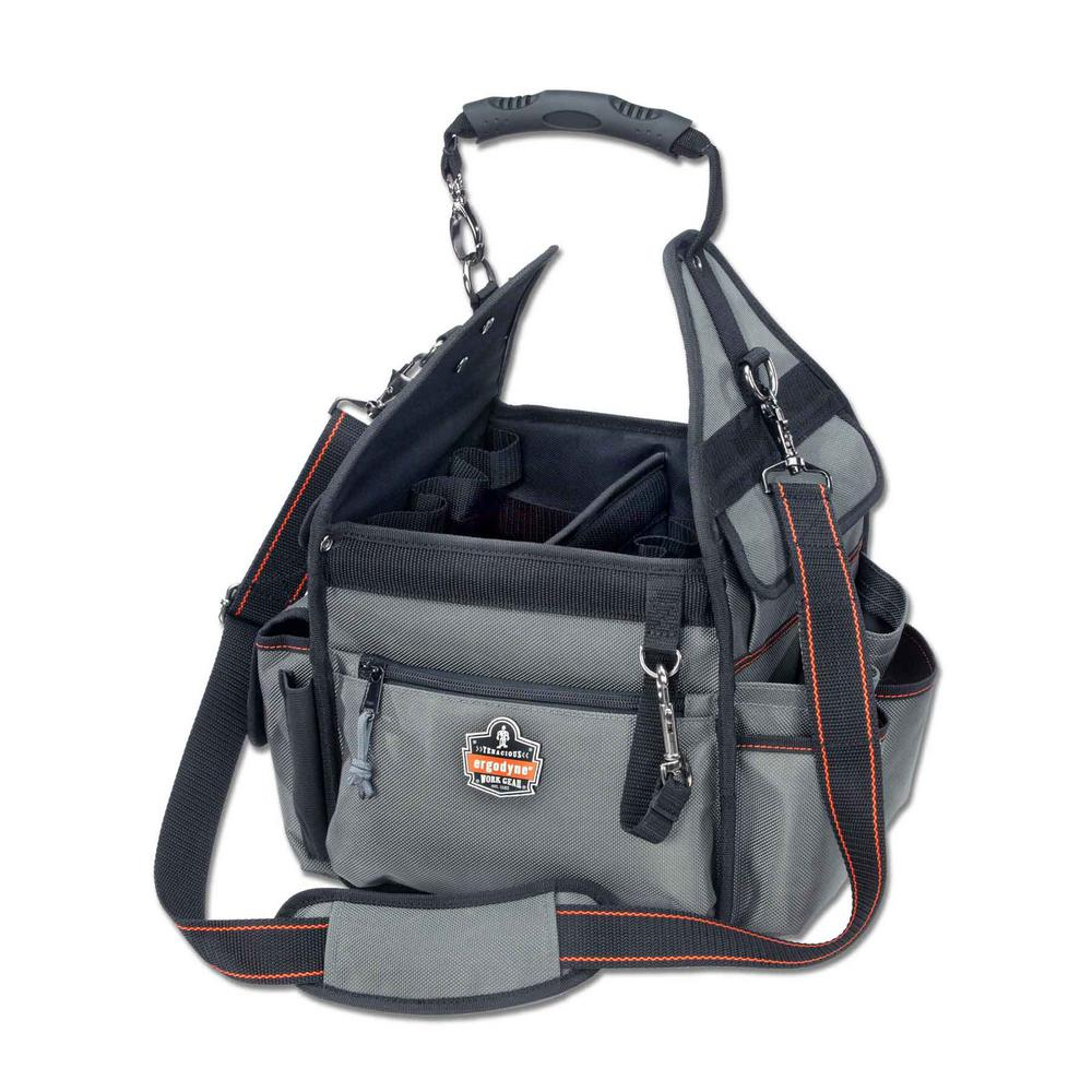 Electrician Organizer Tool Bag In Gray