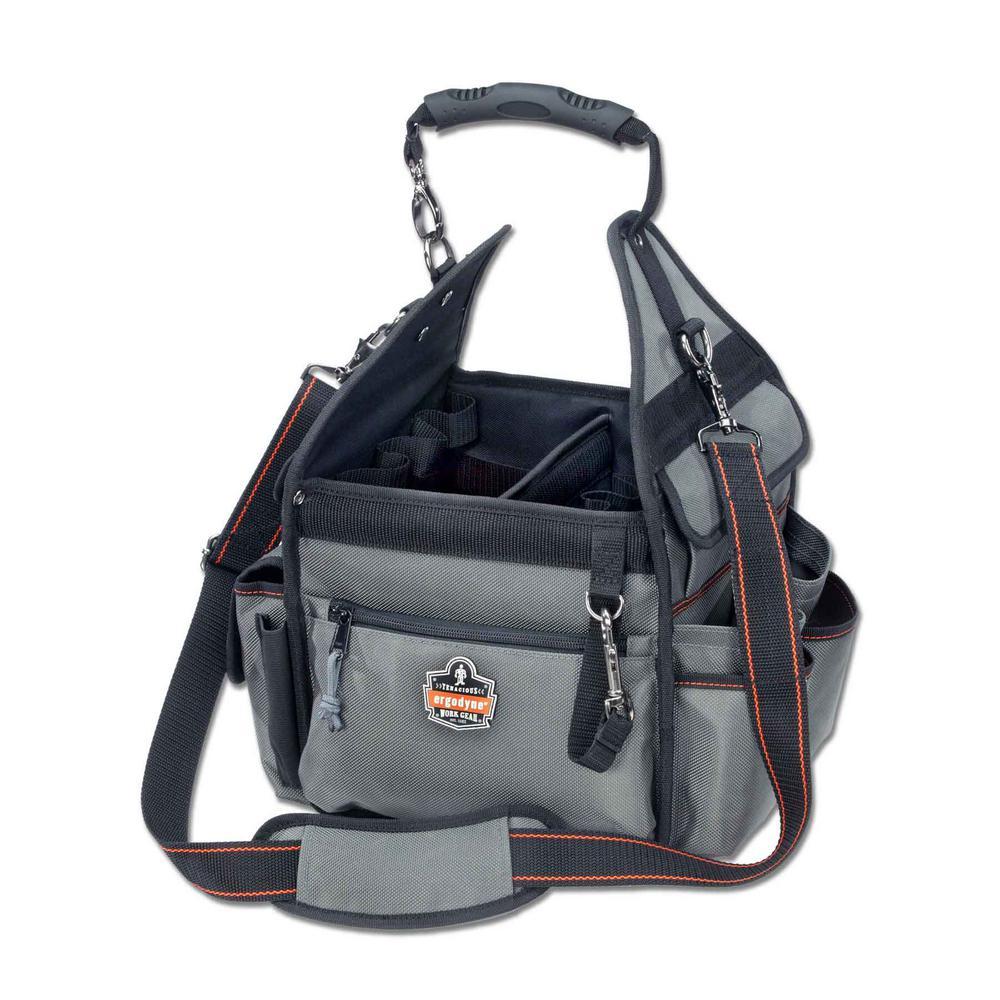 Ergodyne Arsenal 11 inch Electrician' Organizer Tool Bag in Gray by Ergodyne