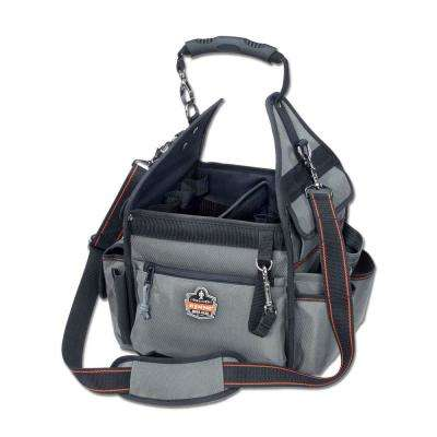Arsenal 11 in. Electrician' Organizer Tool Bag in Gray