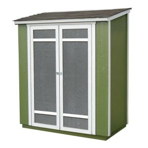 Click here to buy Handy Home Products Ocoee 6 ft. x 3 ft. Wood Storage Shed by Handy Home Products.