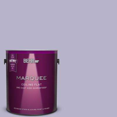1 gal. #S570-3 Tinted to Bohemianism One-Coat Hide Flat Interior Ceiling Paint and Primer in One