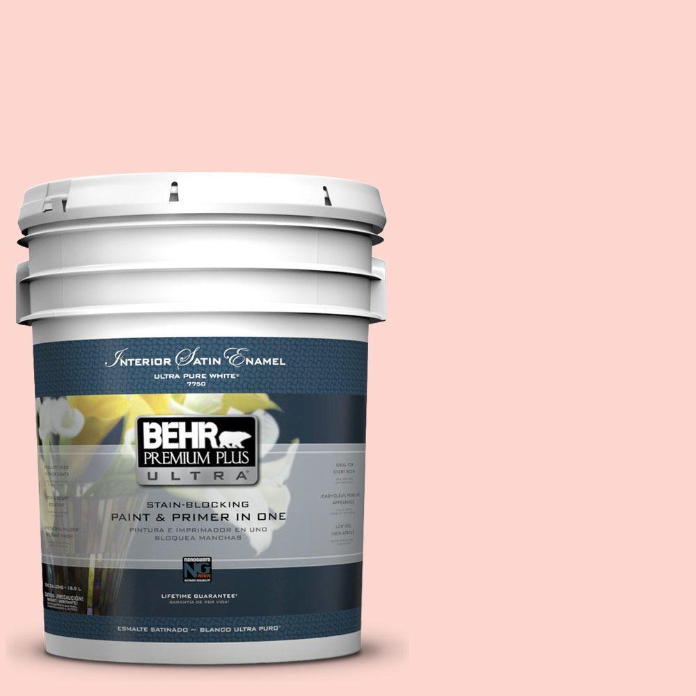 5-gal. #170C-2 Creamy Peach Satin Enamel Interior Paint