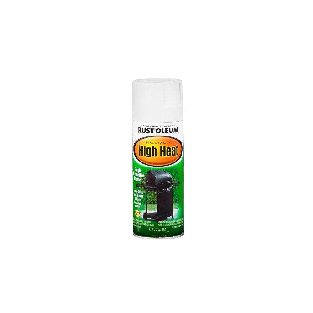 Rust Oleum Specialty 12 Oz High Heat Satin White Spray Paint