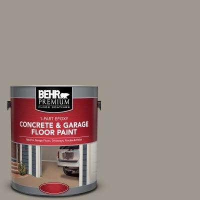 1 gal. #PFC-73 Pebbled Path 1-Part Epoxy Satin Interior/Exterior Concrete and Garage Floor Paint