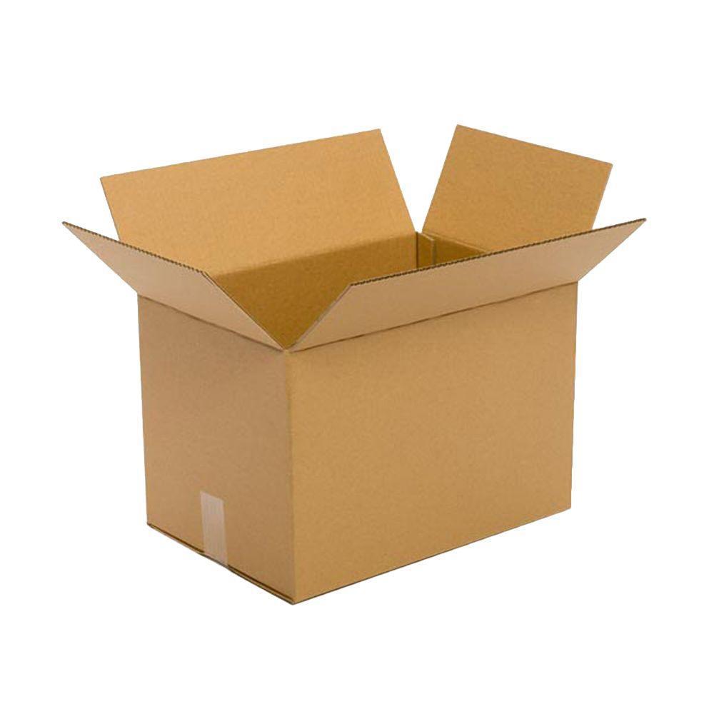 Pratt Retail Specialties 18 in. L x 12 in. W x 12 in. D Moving Box (25-Pack)