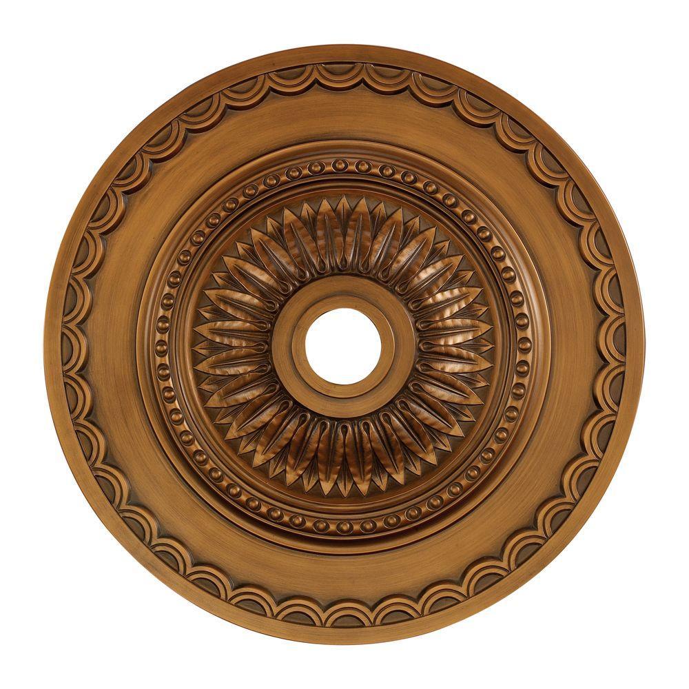 Antique Bronze Ceiling Medallion