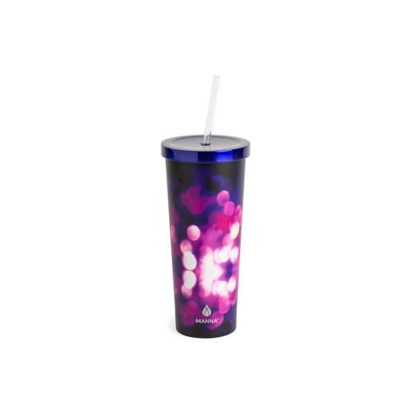 914d0c5ed23 Manna Sparkles 24 oz. Chilly Tumbler 21607 - The Home Depot