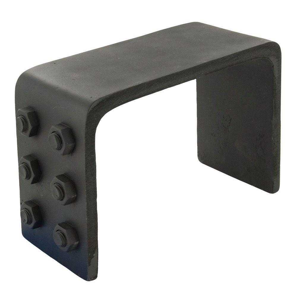 American Pro Decor 6-1/4 in. x 10-1/4 in. x 3/8 in. Faux Bracket for Modern Faux Wood Beam