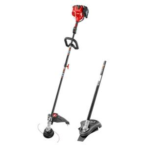 Toro 2-Cycle 25.4cc Attachment Capable Straight Shaft Gas String Trimmer with Brush Cutter Attachment by Toro