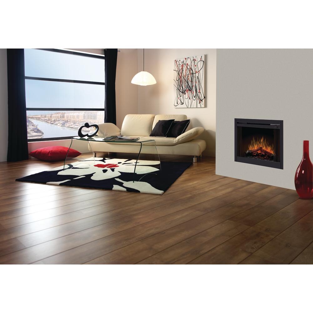 33 in. Slimline Electric Fireplace Insert