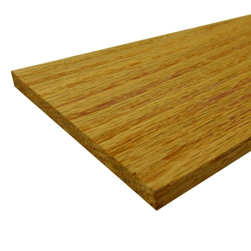 Swaner Hardwood Oak Hobby Board (Common: 1/2 in. x 4 in. x 3 ft.; Actual: 0.5 in. x 3.5 in. x 36 in.)