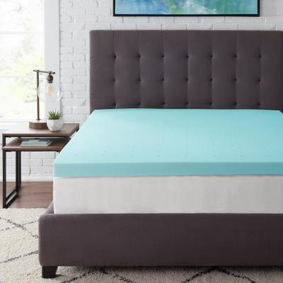 3 in. Gel Infused Memory Foam King Mattress Topper