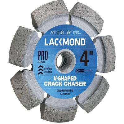 4 in. Crack Chaser Wheel with 5/8 in. -11 Nut