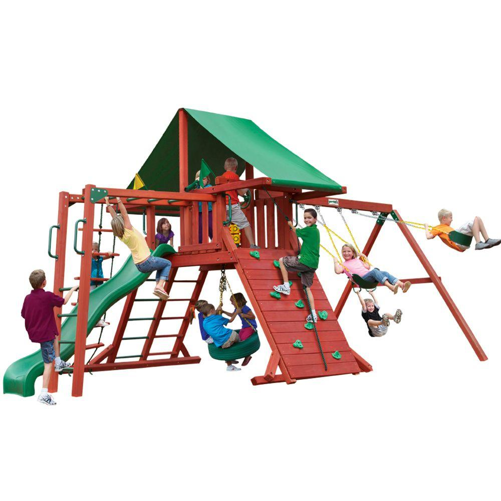 Gorilla Playsets Sun Valley II Cedar Swing